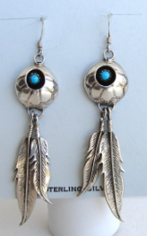 SS Turquoise Earrings