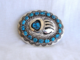 Turquoise Bear Buckle
