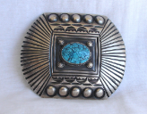 Burnished Silver Style with Turquoise