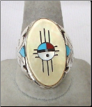 Men's Native American Rings