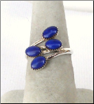 Blue Lapis Set Ring
