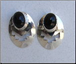 SS Onyx Earrings